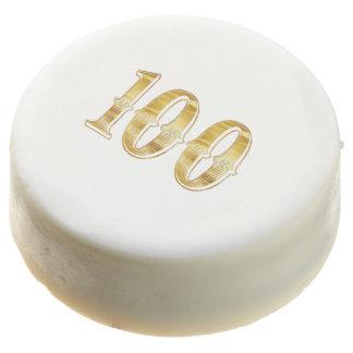 100th Anniversary Hundred Birthday Cookie