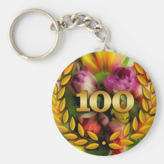 100th anniversary keychain