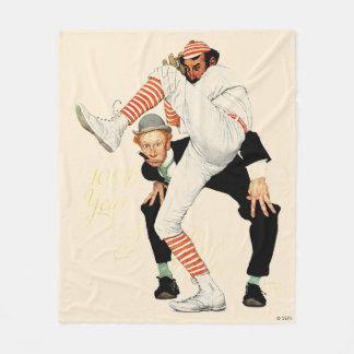100th Anniversary of Baseball Fleece Blanket
