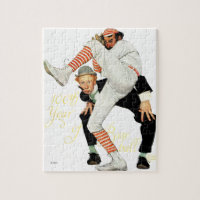 100th Anniversary of Baseball Jigsaw Puzzle