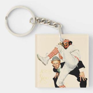100th Anniversary of Baseball Keychain