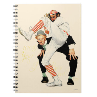 100th Anniversary of Baseball Notebook
