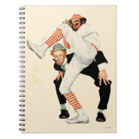 100th Anniversary of Baseball Spiral Notebook