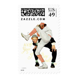 100th Anniversary of Baseball Stamps