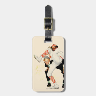 100th Anniversary of Baseball Tag For Luggage
