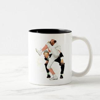 100th Anniversary of Baseball Two-Tone Coffee Mug