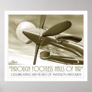 100th Anniversary of Flight print