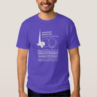 100th Armenian Genocide Commemoration of Texas T-shirts