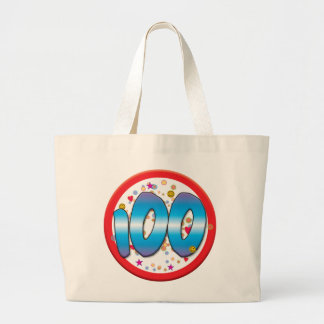 100th Birthday Tote Bags