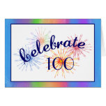 100th Birthday Celebration Card