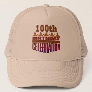 100th Birthday Celebration Gifts Trucker Hat