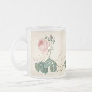 100th Birthday Celebration Vintage Rose F Mug