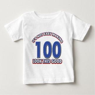 100th birthday designs baby T-Shirt