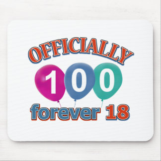 100th birthday designs mouse pad