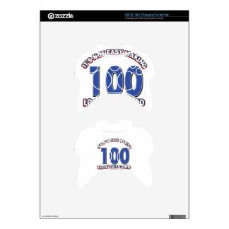 100th birthday designs xbox 360 controller skins