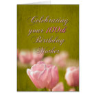 100th Birthday Mother Card