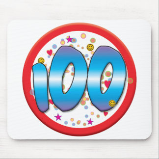 100th Birthday Mouse Mat