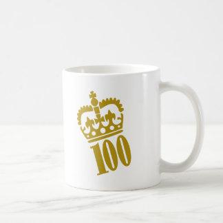100th Birthday - Number – Hundred Coffee Mug