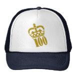100th Birthday - Number – Hundred Trucker Hat