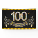 100th Birthday Party Banner