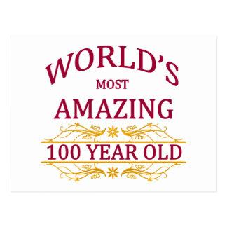100th. Birthday Postcard