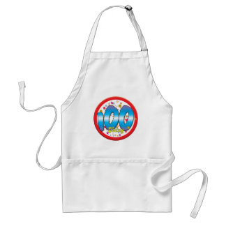 100th Birthday Today Adult Apron