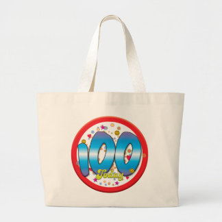 100th Birthday Today Bags
