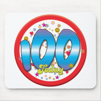 100th Birthday Today Mousepad
