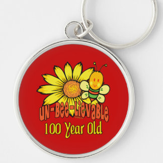 100th Birthday - Unbelievable at 100 Years Old Keychain