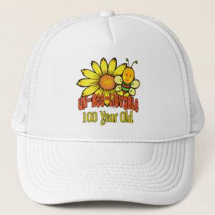 100th Birthday Hats Caps