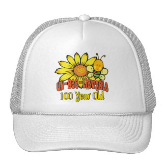 100th Birthday - Unbelievable at 100 Years Old Trucker Hat