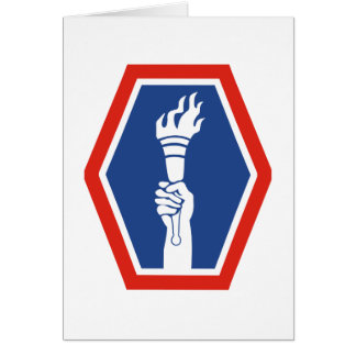 100th BN 442nd Infantry Greeting Card