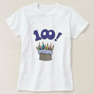 100th Cake Tee Shirt