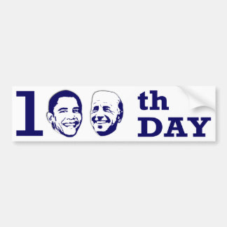 100th Day Bumper Sticker