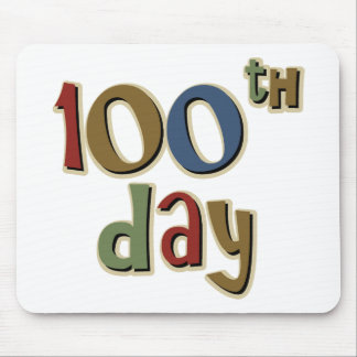 100th Day Mouse Pad