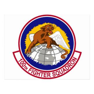100th Fighter Squadron Postcard