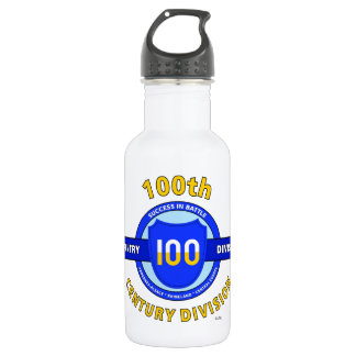 "100TH INFANTRY DIVISION ""CENTURY DIVISION"" 18OZ WATER BOTTLE"