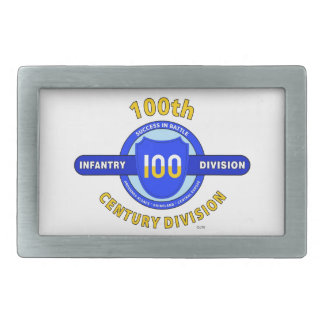 """100TH INFANTRY DIVISION """"CENTURY DIVISION"""" BELT BUCKLE"""