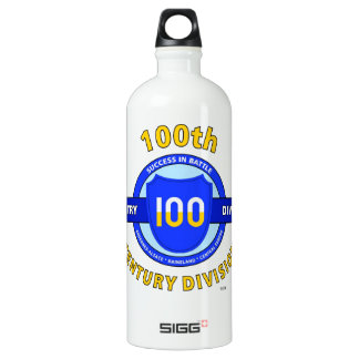 "100TH INFANTRY DIVISION ""CENTURY DIVISION"" SIGG TRAVELER 1.0L WATER BOTTLE"