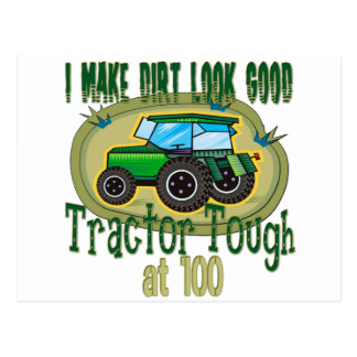 100th Tractor Tough Postcard