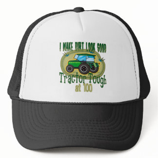100th Tractor Tough Trucker Hat