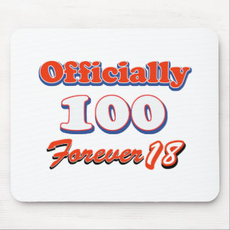 100th year birthday designs mouse pad