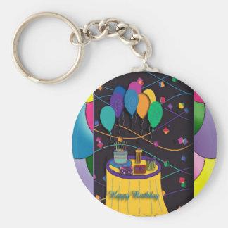 100thsurprisepartyyinvitationballoons keychain