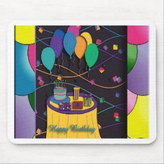 100thsurprisepartyyinvitationballoons mouse pad