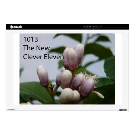 1013 la nueva foto de portada lista once calcomanías para 43,2cm portátiles