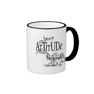 10150 FUNNY ATTITUDE COMMENTS SAYINGS PERSONALITY MUGS