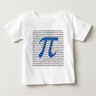 1018 Digits of PI Baby T-Shirt