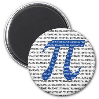 1018 Digits of PI Fridge Magnet
