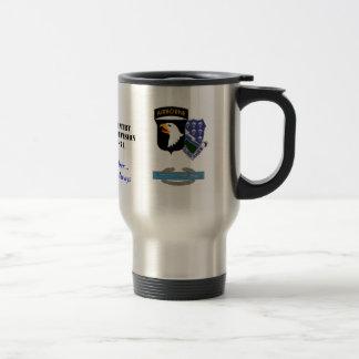 101-506, currahee seal2, cib, A Co., 1/506 Infa... Mug