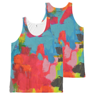 101 All-Over PRINT TANK TOP